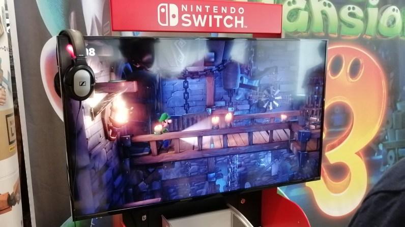 Sackgasse? Hier wartet das erste Windrad-Rätsel der E3 Demo auf uns.