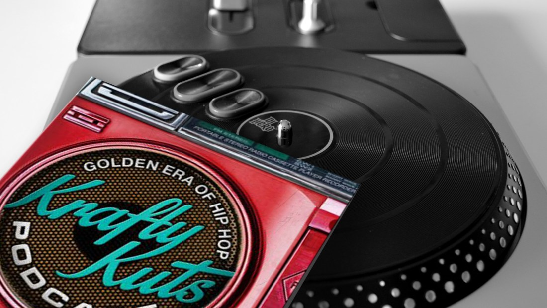 Foto: rush'B'fast, Plattencover: Krafty Kuts/mixcloud