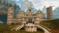 Housing Deluxe: Der Baumodus von Citadel: Forged with Fire lässt uns riesige Festungen erschaffen. In Sachen Größe, Form und Kreativität sind keine Grenzen gesetzt.
