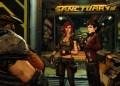 Borderlands 3 - Hier treffen alte Bekannte aufeinander: Von links nach rechts - Ellie, Lilith, Tannis, Claptrap.