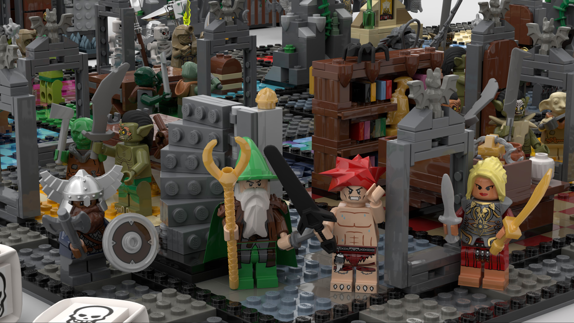 Quelle: LEGO IDEAS - Hero Quest - Helden Detail