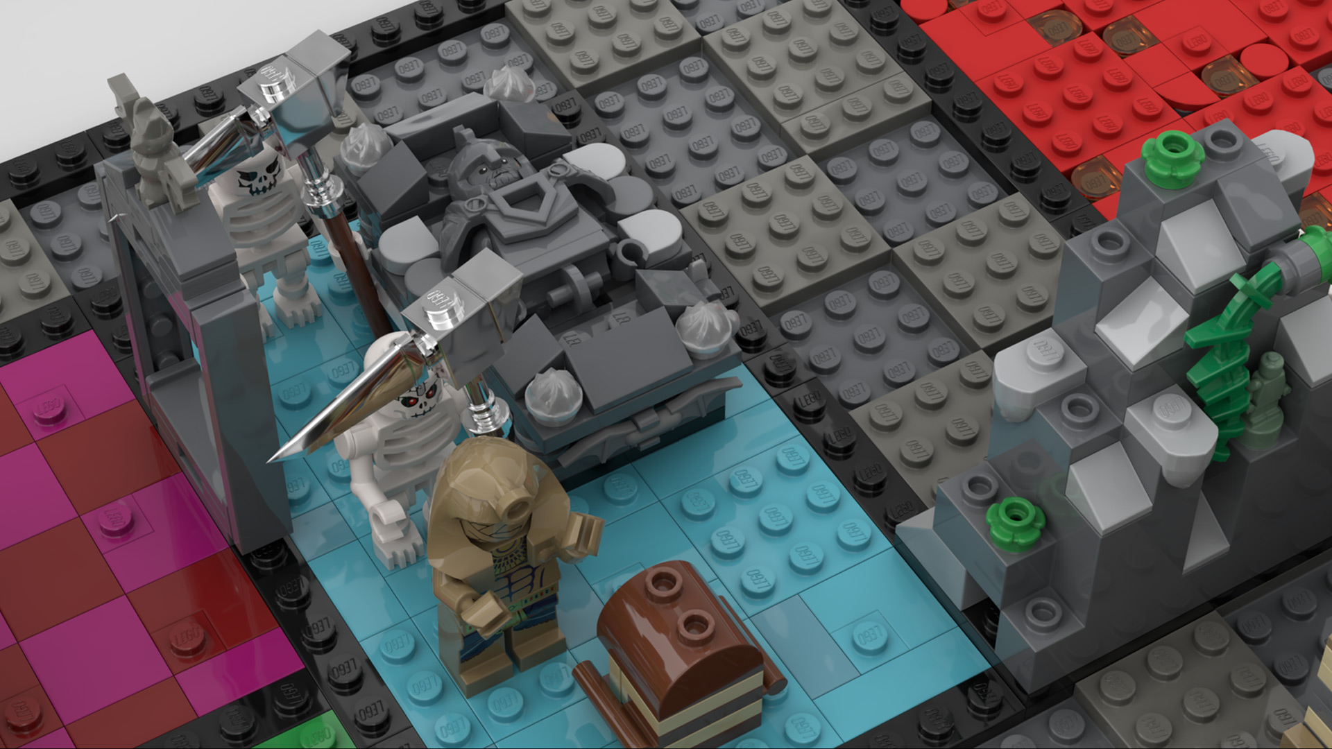 Quelle: LEGO IDEAS - Hero Quest - Sarkophag