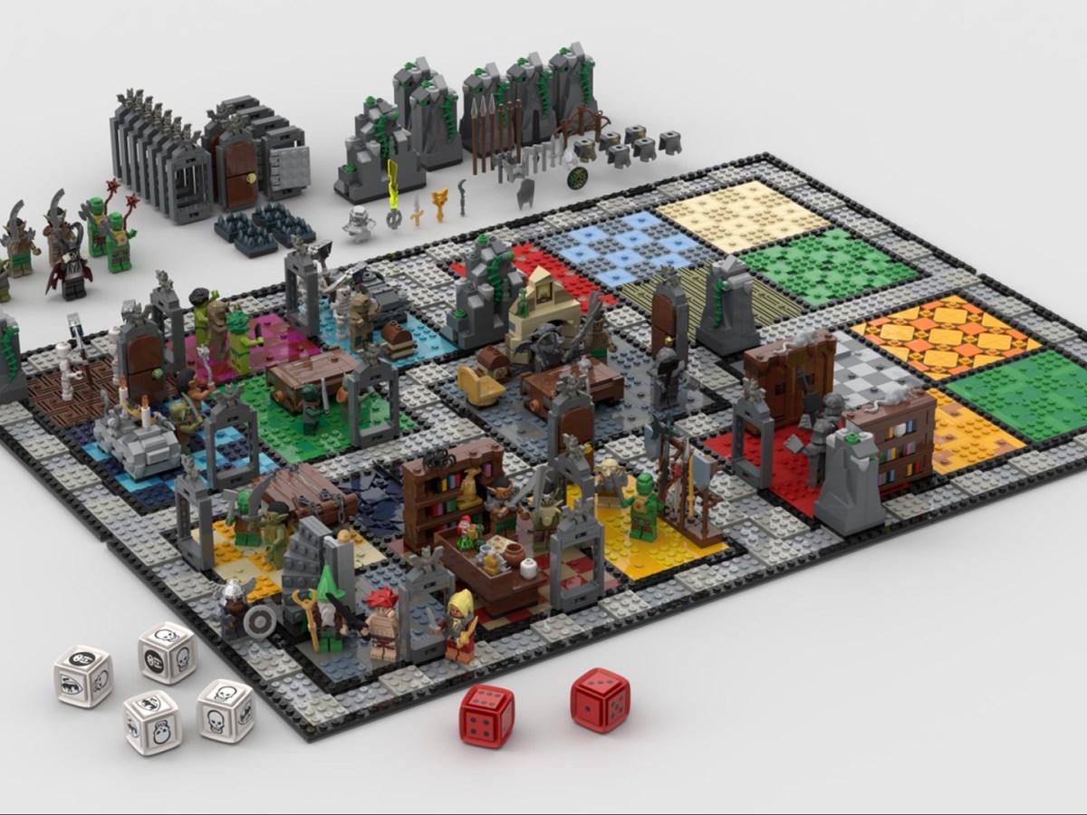Quelle: LEGO IDEAS - Hero Quest - KingGloriousSquirrel