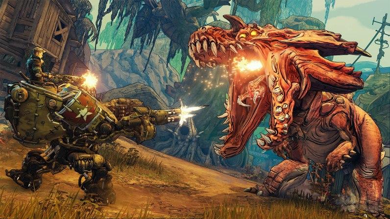 Quelle: 2K - Zahnreinigung: Metal Slug trifft auf Jurassic Park.