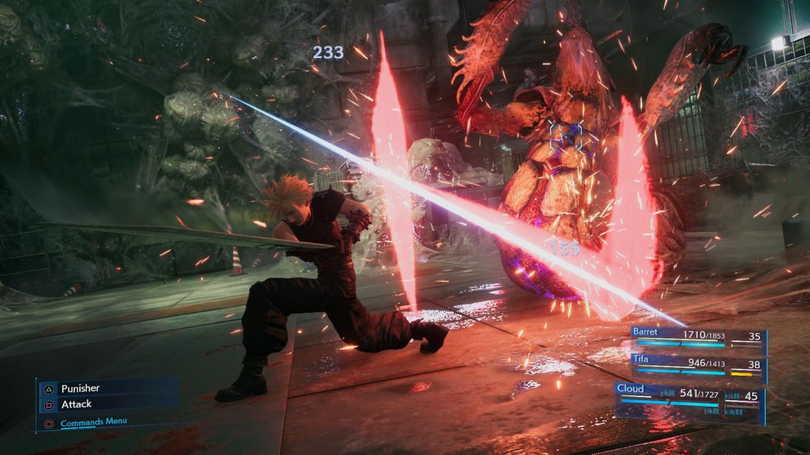 Quelle: Square Enix - Final Fantasy 7 Remake - Punisher-Mode
