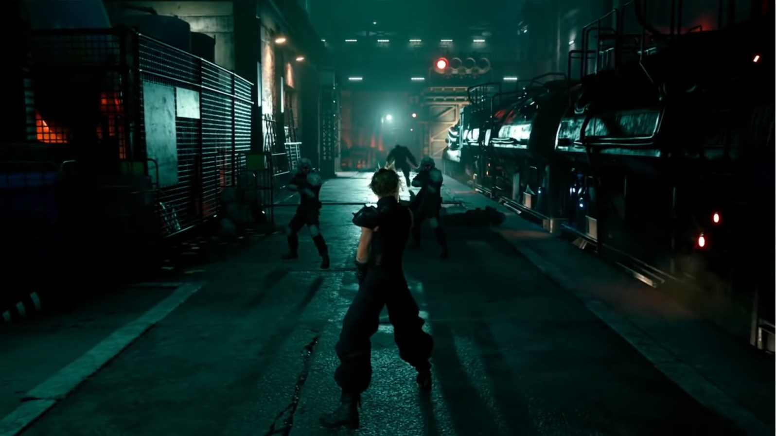 Quelle: Square Enix - Final Fantasy 7 Remake (Zugszene)