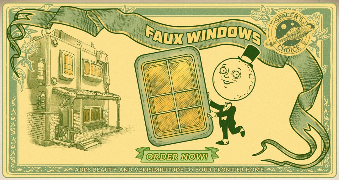 The Outer Worlds - FAUX WINDOWS