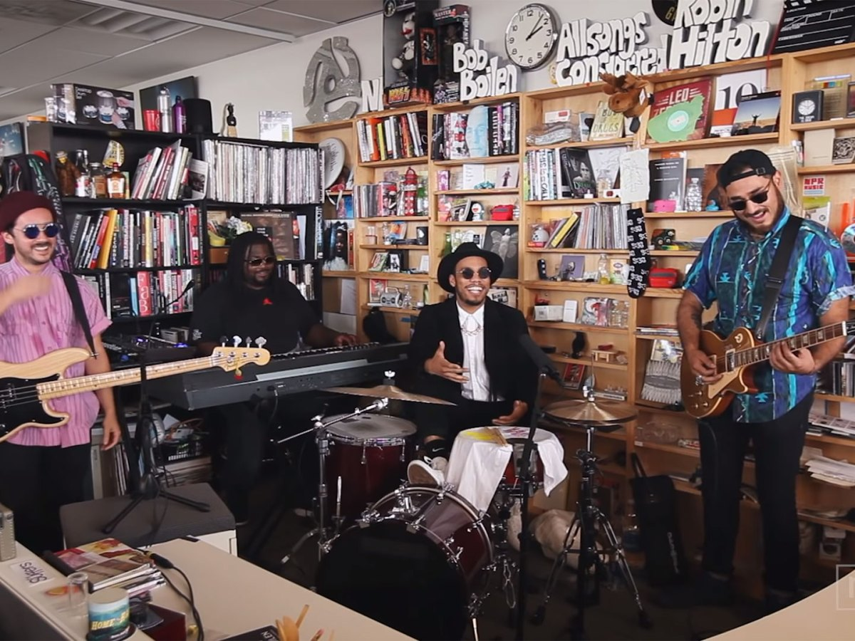 Quelle: NPR Music Tiny Desk Concert - Anderson .Paak & The Free Nationals
