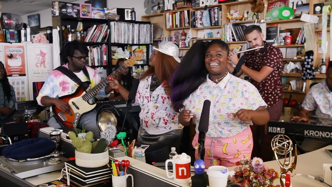 Quelle: NPR Music Tiny Desk Concert - Tank And The Bangas