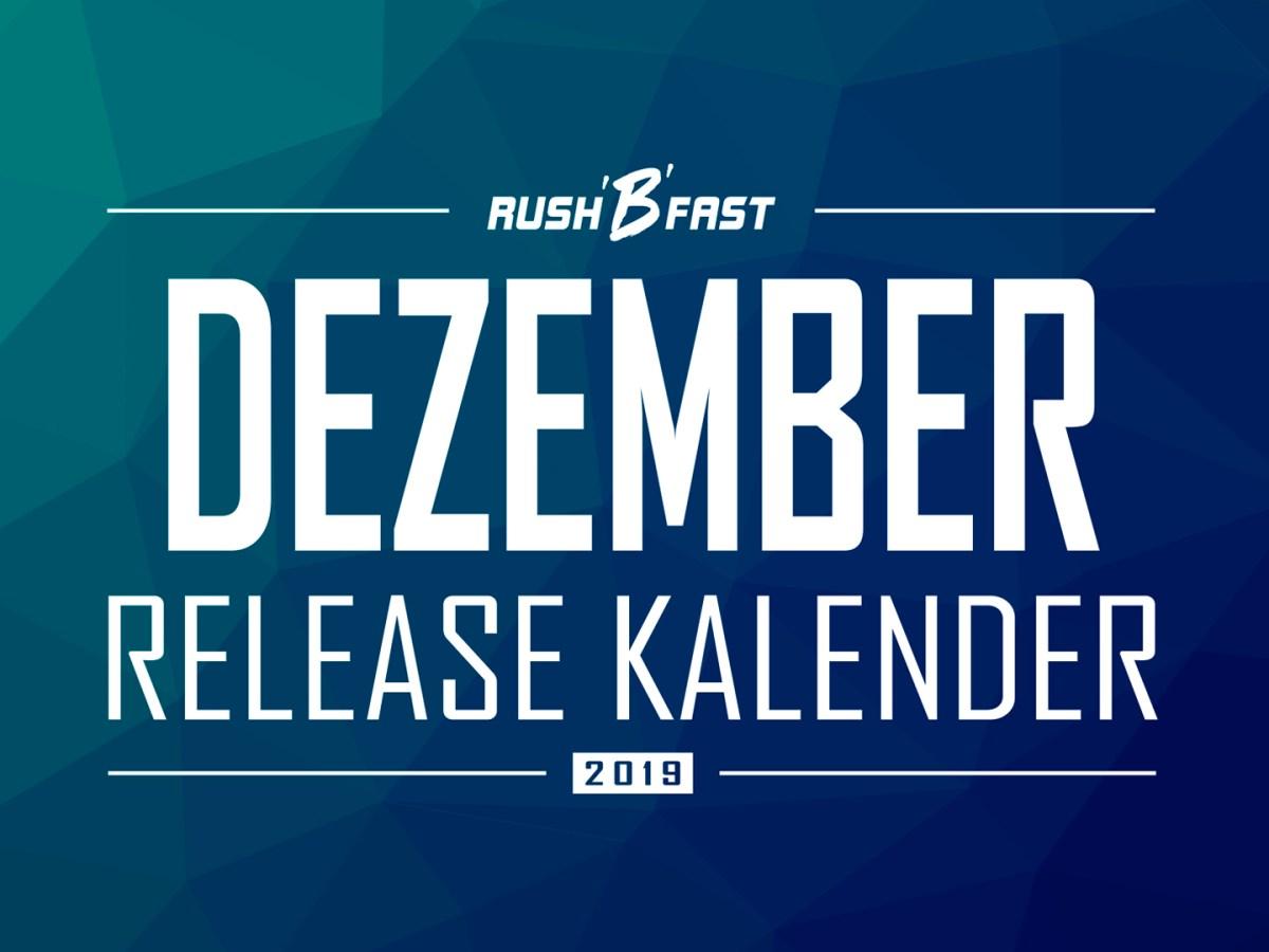 rush'B'fast - Game-Release-Kalender: Dezember 2019