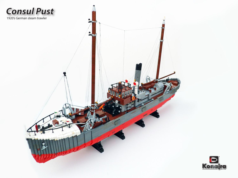 Quelle: Arjan Oude Kotte - Consul Pust Steamtrawler