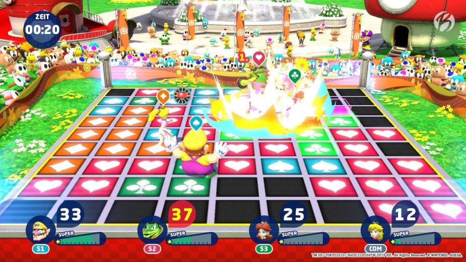 Mario & Sonic bei den Olympischen Spielen: Tokyo 2020 - Karate (Traum)