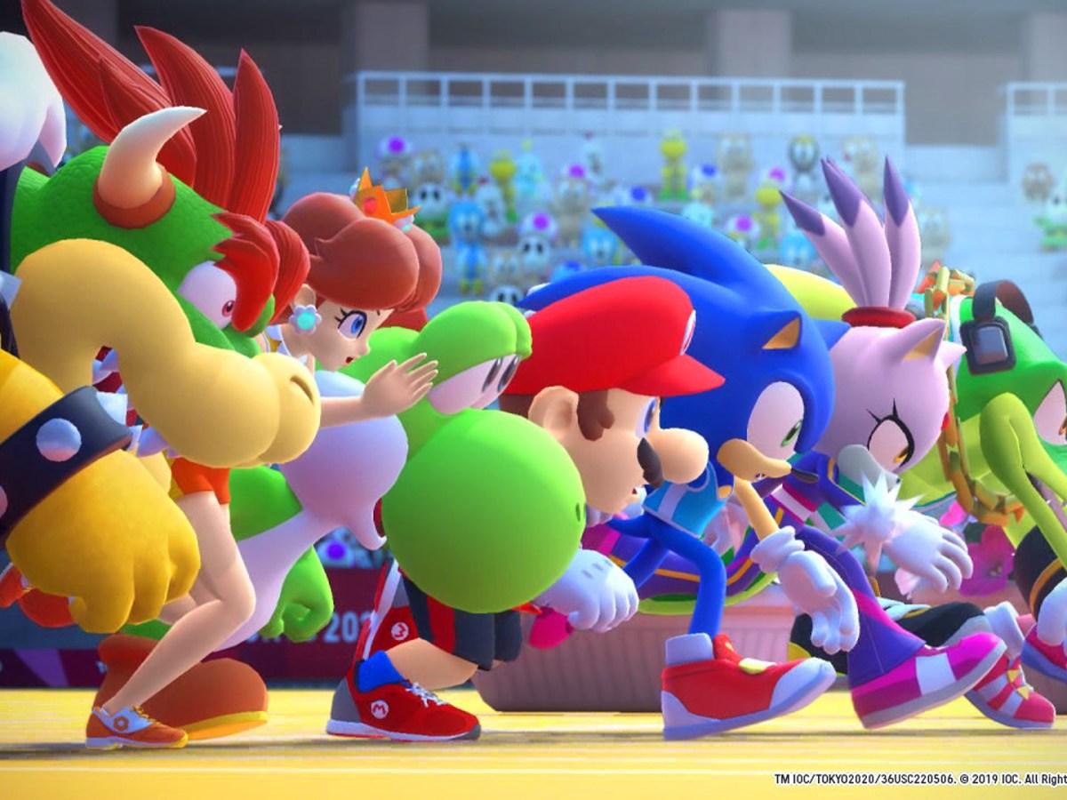 Mario & Sonic bei den Olympischen Spielen: Tokyo 2020 - Intro