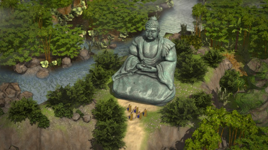 Quelle: FireFly Studios - Stronghold: Warlords - Buddha