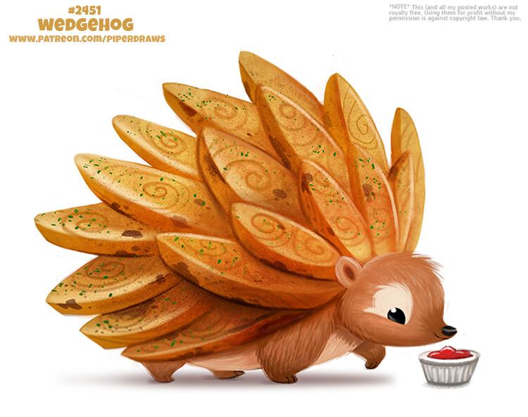 Quelle: artstation - Piper Thibodeau - Wedgehog