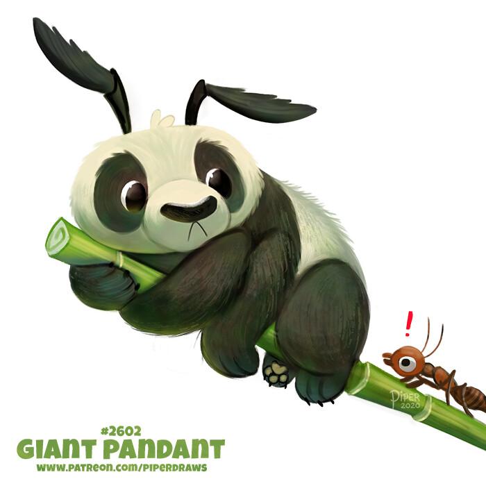 Quelle: artstation - Piper Thibodeau - Giant Pandant