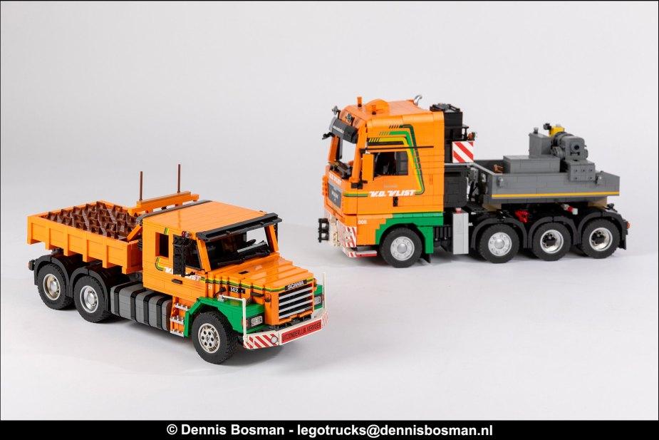Quelle: flickr - Dennis-Bosman - Scania-T142E & MAN TGX