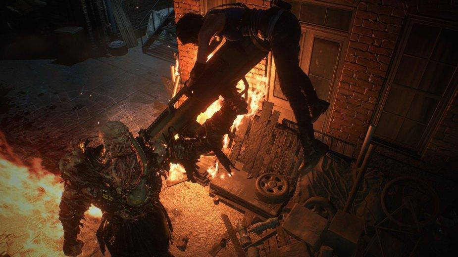 Quelle: Capcom - Nemesis!