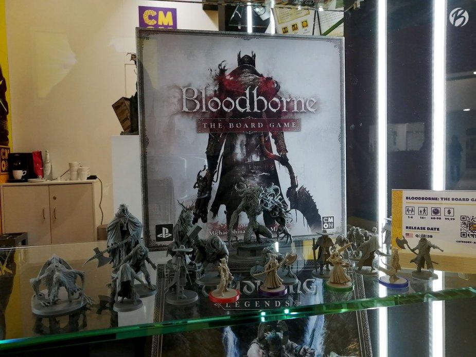 Die Figuren des Bloodborne Brettspiels machen richtig was her.