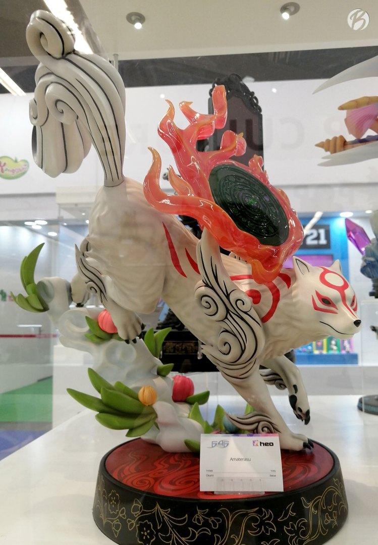 Amaterasu aus Okami: wunderschön und riesengroß.