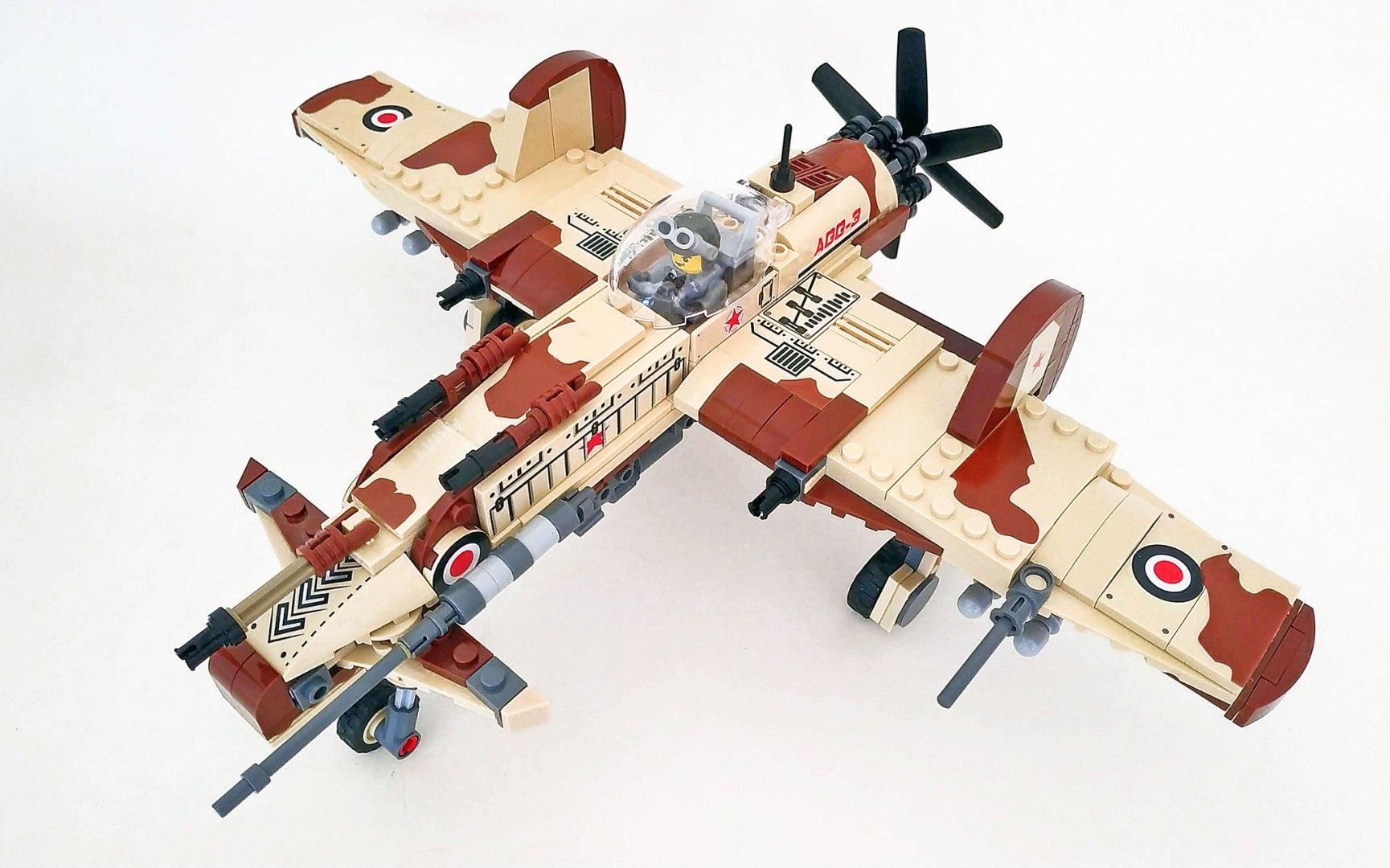 Quelle: flickr - John C. Lamarck - AGG 3 plane