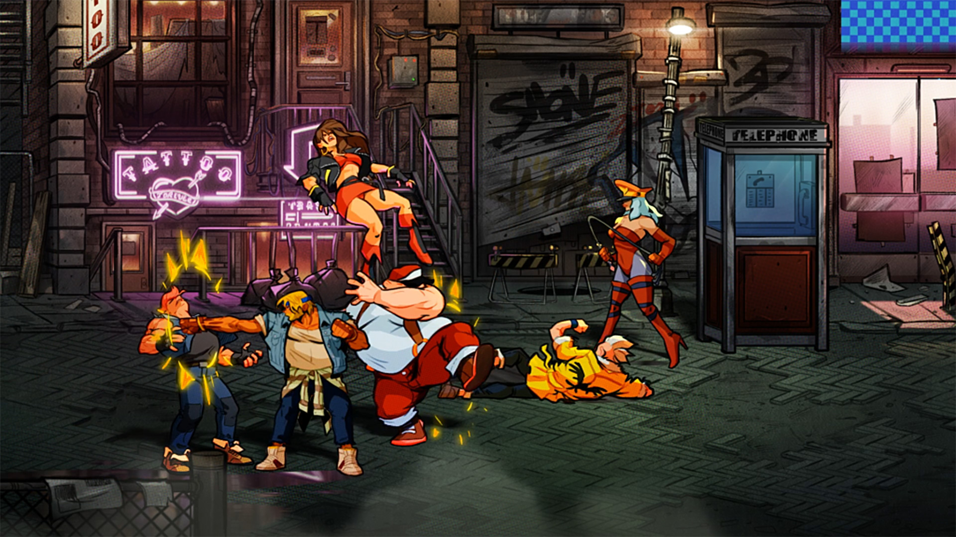 Quelle: Dotemu - Streets of Rage 4
