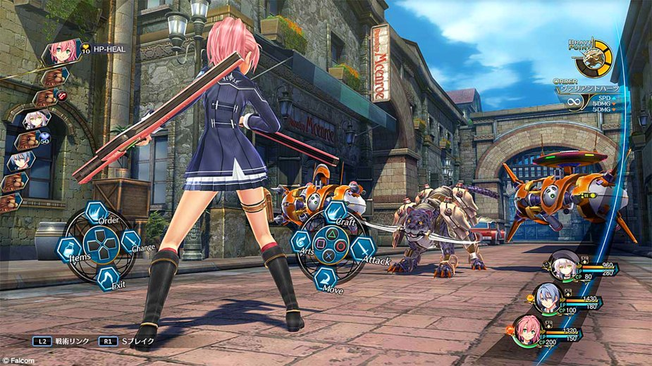 Quelle: NIS America - The Legend of Heroes: Trails of Cold Steel III