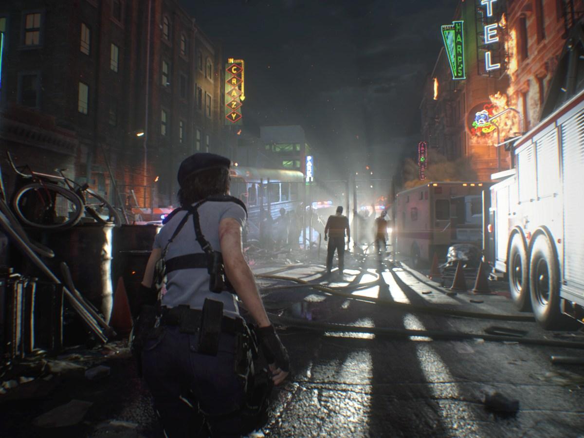 Resident Evil 3 - In Raccoon City ist die Hölle los.