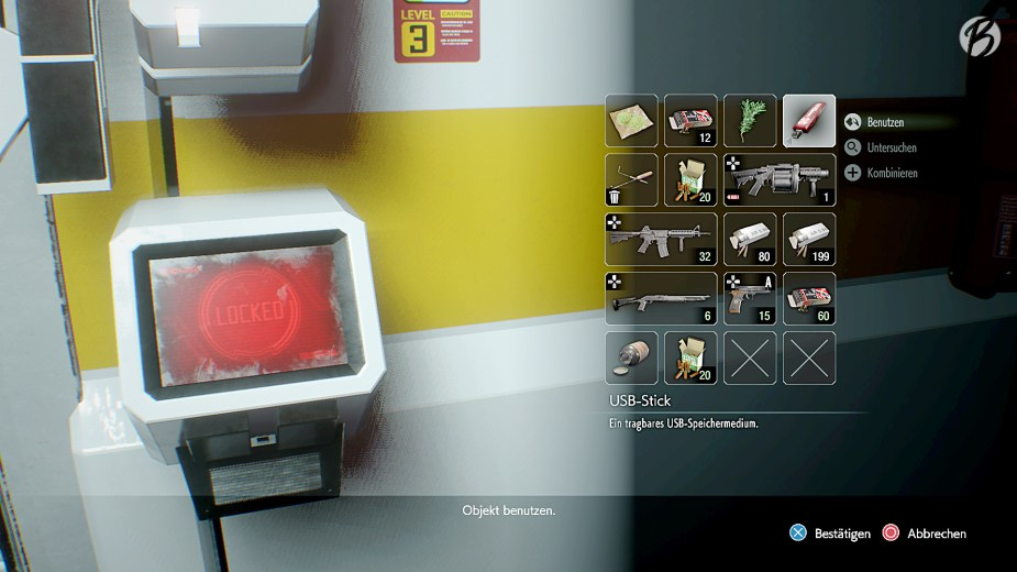 RESIDENT EVIL 3 (Remake) - 1998 war ein USB-Stick ein absolutes High-Tech Tool.