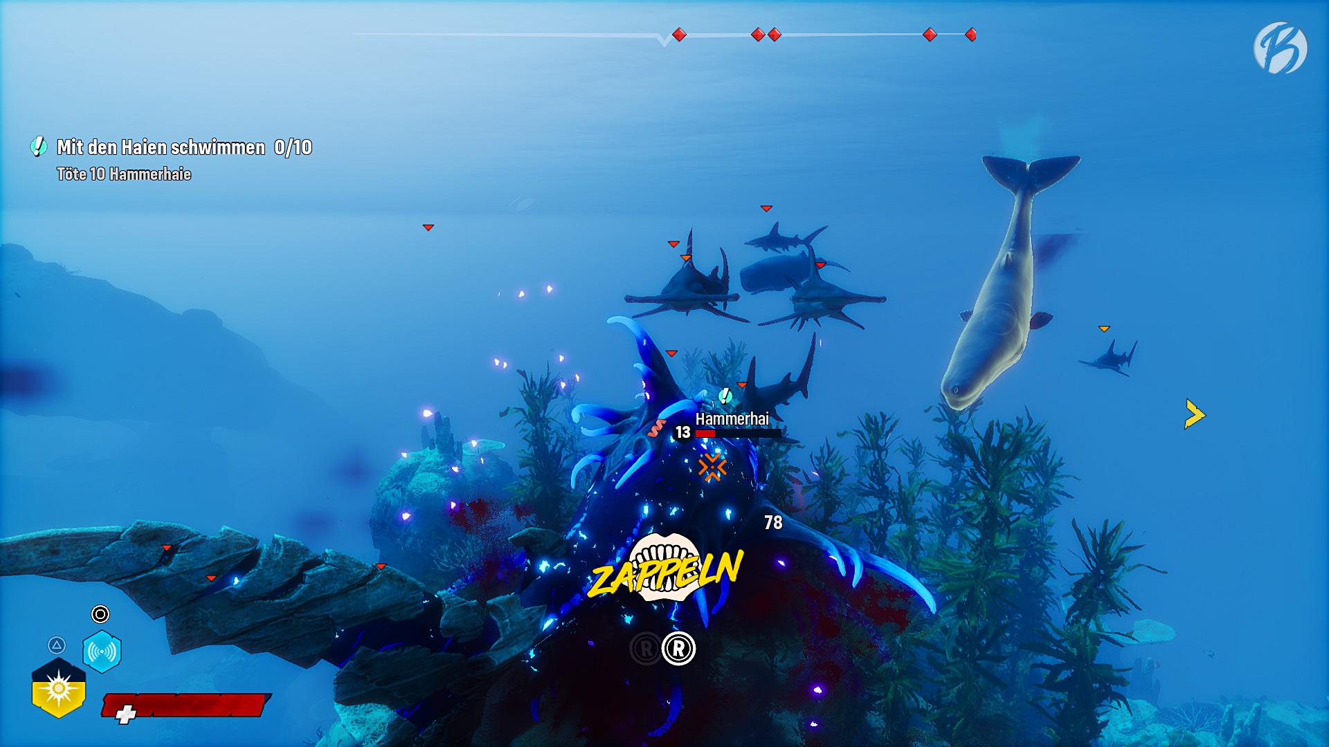 Maneater - So viele Hammerhaie und ein riesiger Pottwal, dass wird hart!