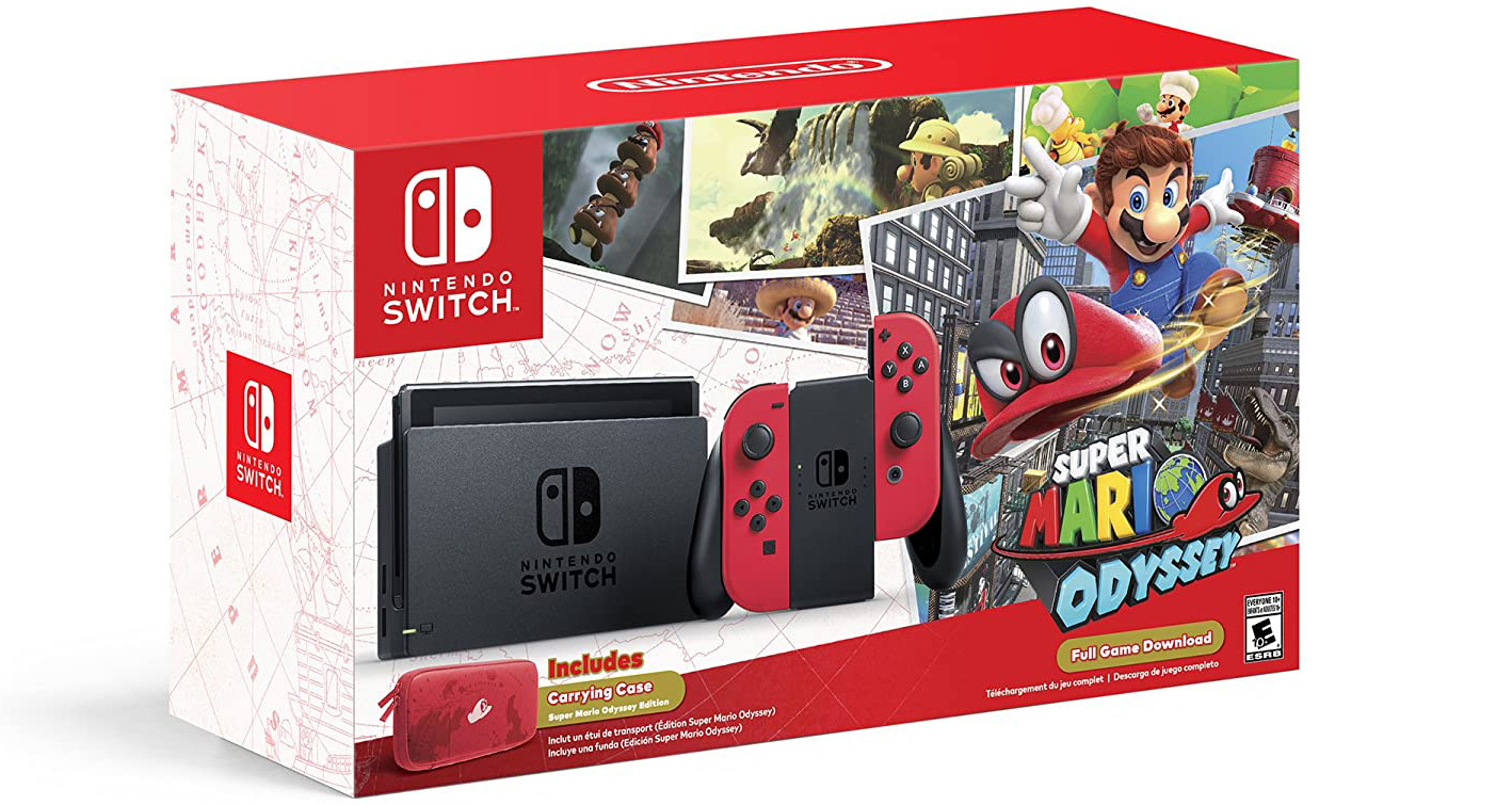 Quelle: Nintendo - Nintendo Switch: Super Mario Odyssey - Limited Edition