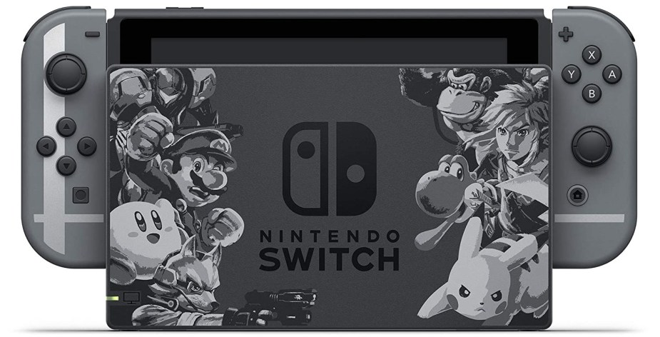 Quelle: Nintendo - Nintendo Switch: Super-Smash Bros Ultimate - Limited Edition