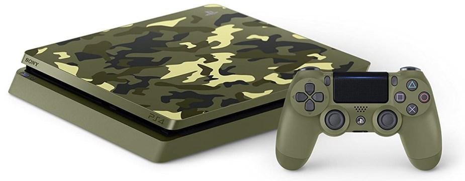 Quelle: Sony - PlayStation 4 (Slim, 1TB, Camouflage Grün) - »Call of Duty: WWII« Limited Edition