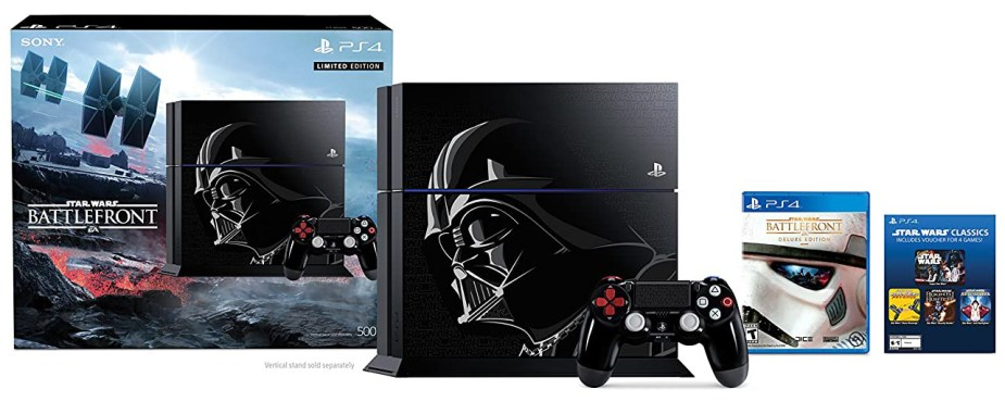 Quelle: Sony - PlayStation 4 (500GB) Konsole - »Star Wars Battlefront« Limited Edition Bundle