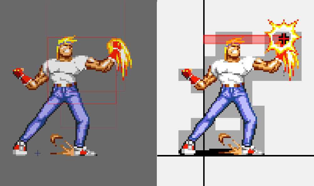 Quelle: Playstation Blog - Streets of Rage 2 - Hitbox