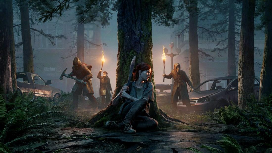 Quelle: Sony Interactive Entertainment - The Last of Us Part II - Key Art Dark