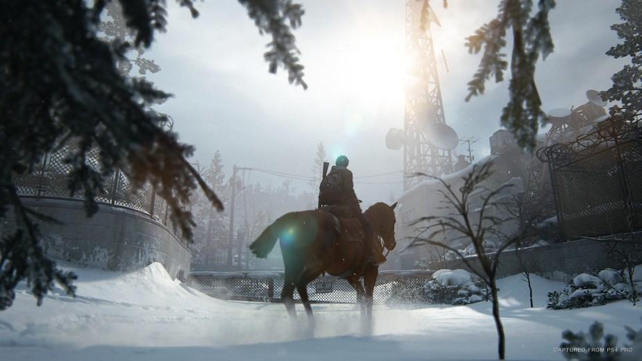 Quelle: SIE - The Last of Us Part II - Funkturm im Winter