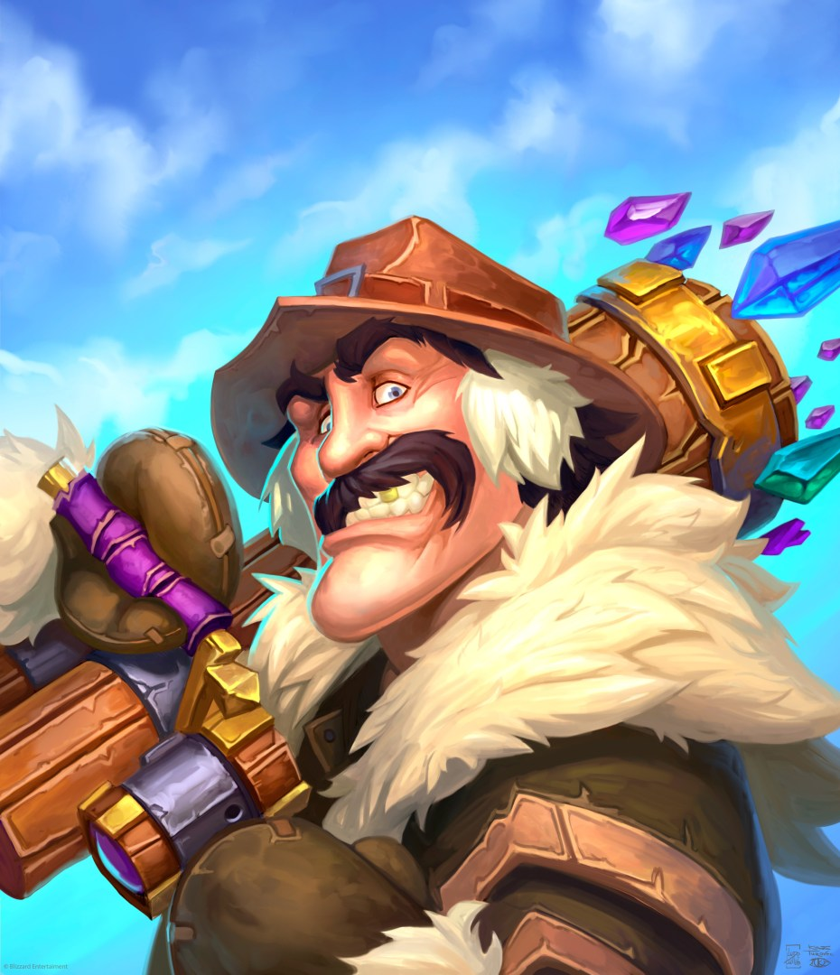 Quelle: Artstation - Konstantin Turovec - Hearthstone - The Amazing Reno