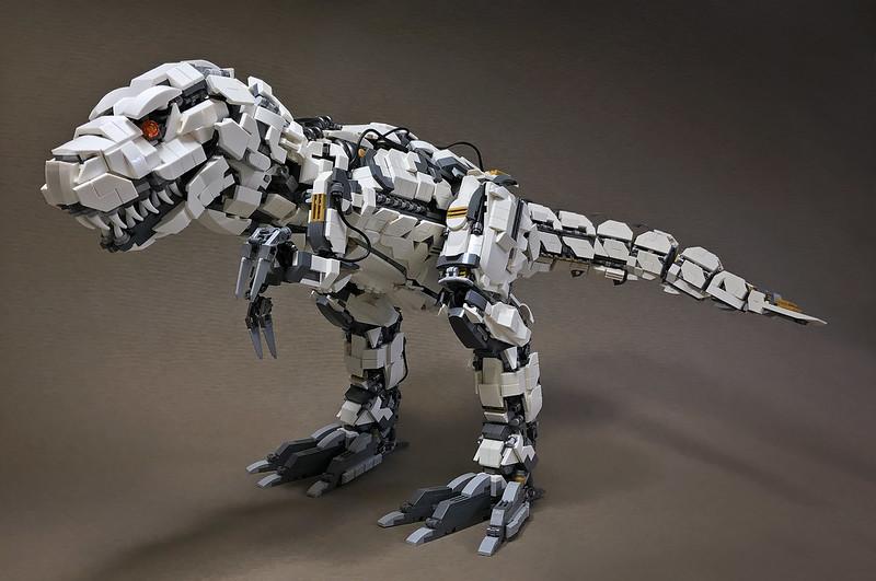 Quelle: flickr - Mitsuru Nikaido - Mecha-Tyrannosaur Mk2