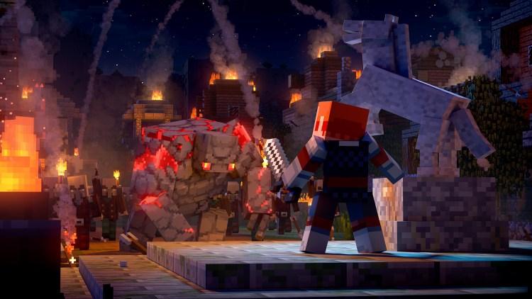 Quelle: Microsoft - Minecraft Dungeons Intro Held