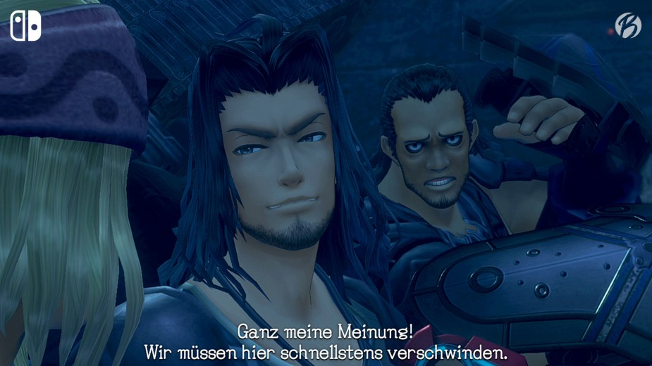 Xenoblade Chronicles: Definitive Edition (Switch) - Intro Zwischensequenz Dunban.