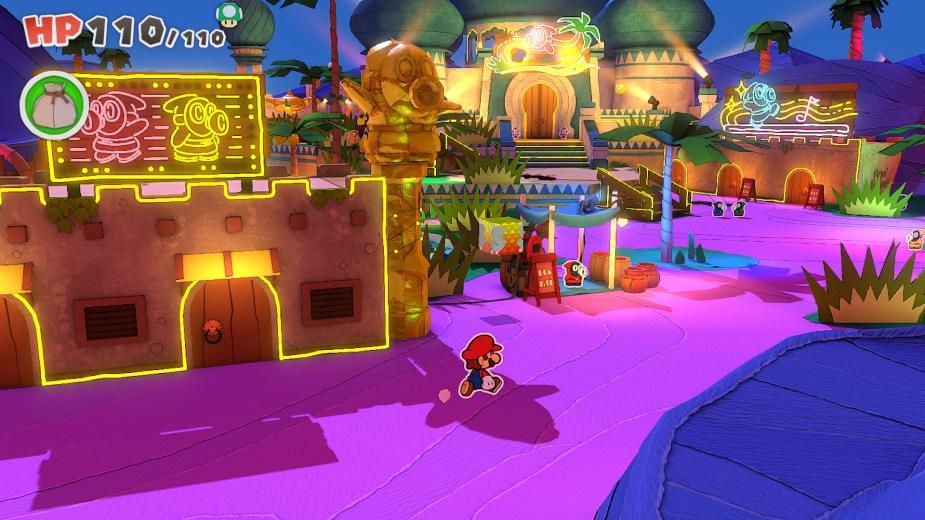 Quelle: Nintendo - Paper Mario: The Origami King - Stadt