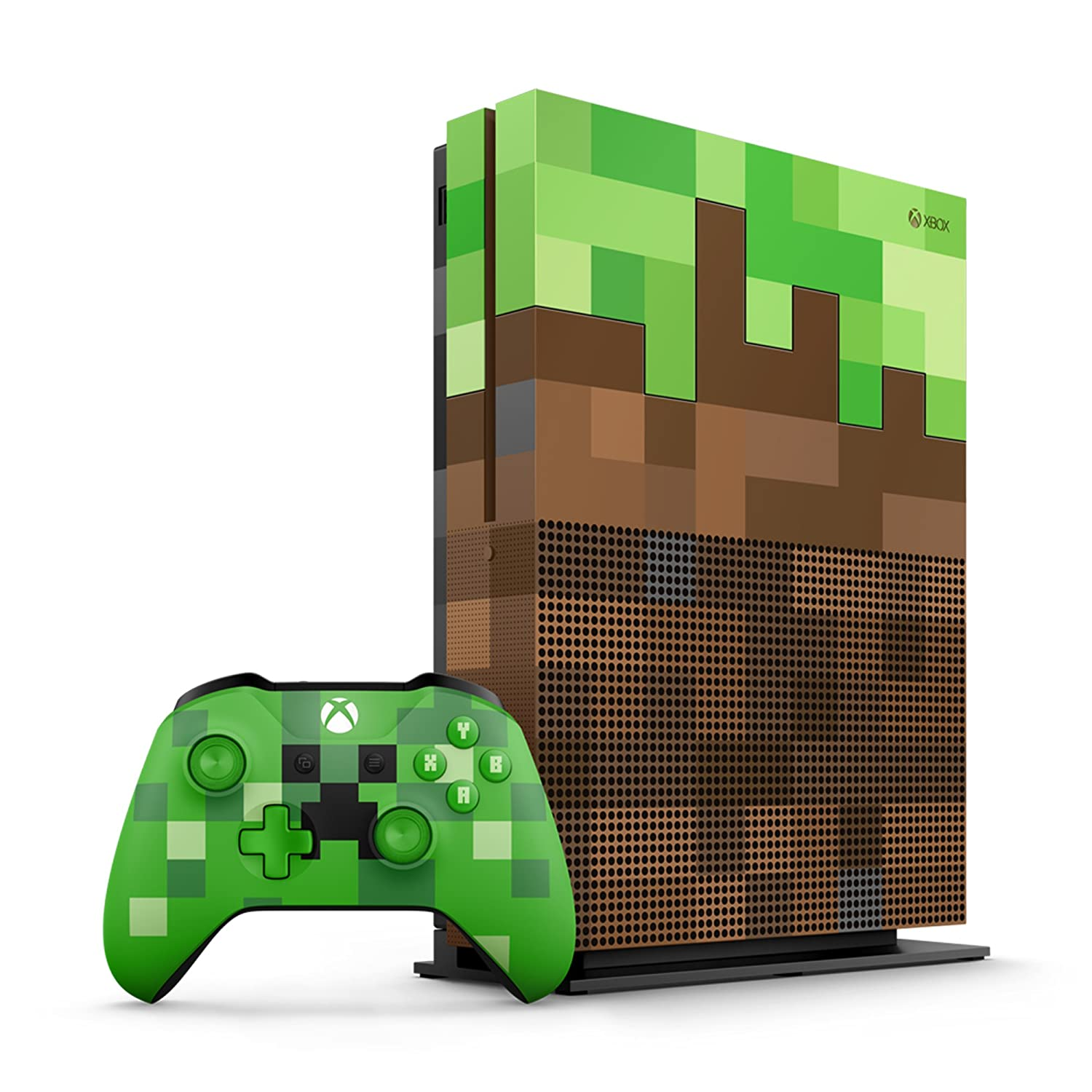 Quelle: Amazon - Xbox One S - Minecraft Bundle 1TB - Limited Edition
