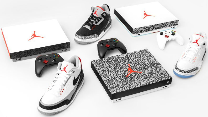 Quelle: Microsoft - Xbox One X - Air Jordan III - Limited Editions