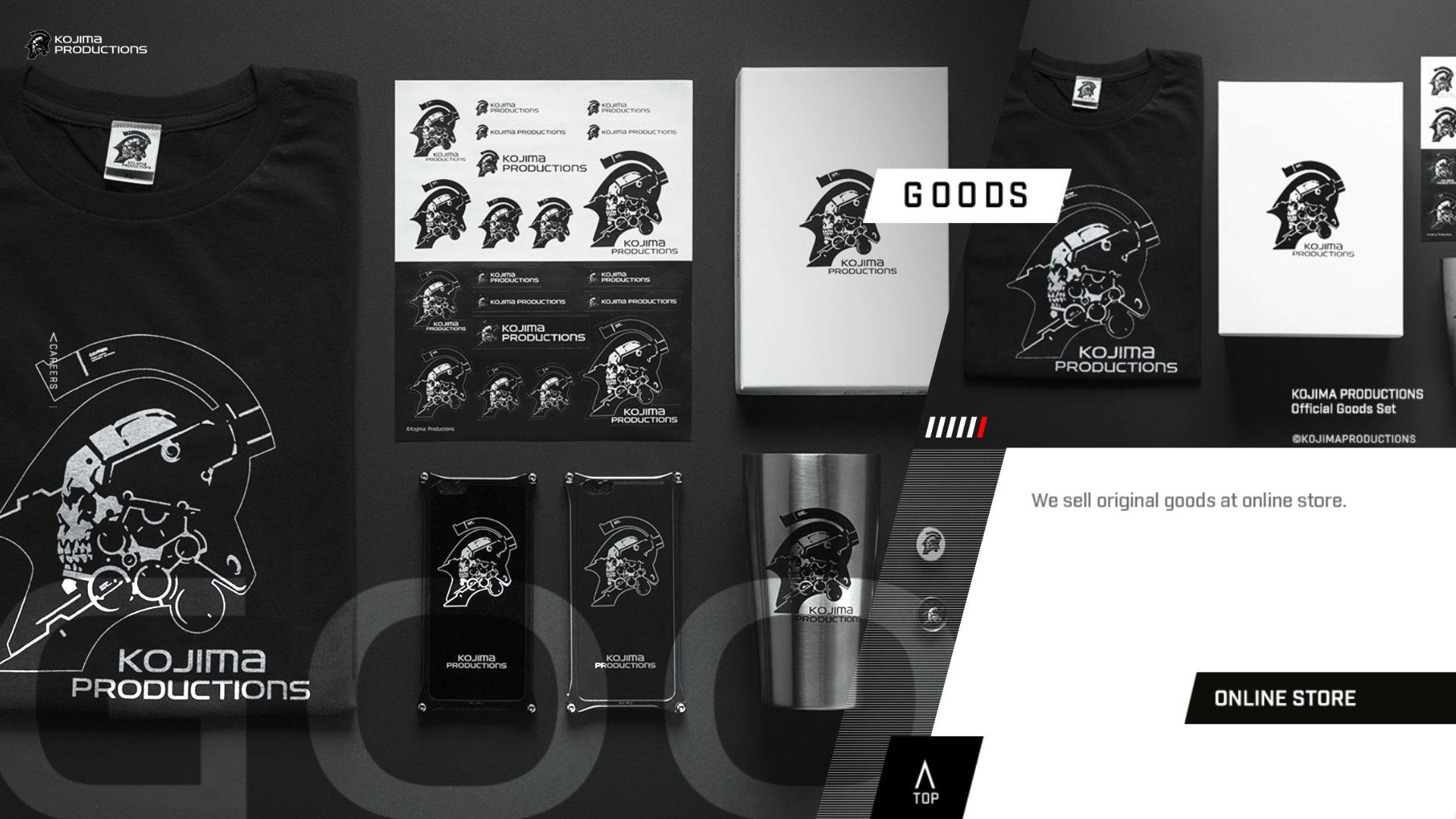 Quelle: Kojima Productions - Online Store: Goods