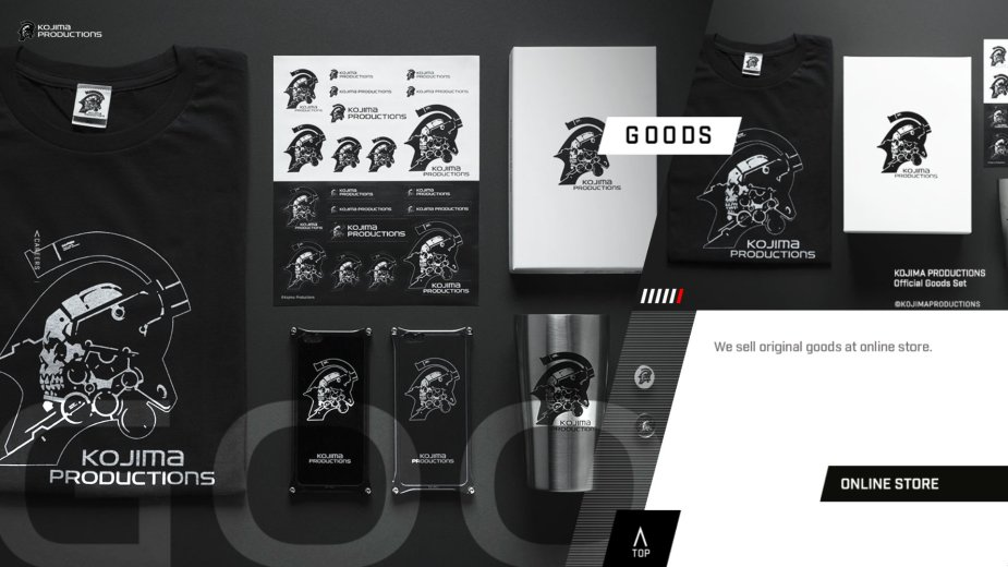 Quelle: Kojima Productions - Online Store: Goods