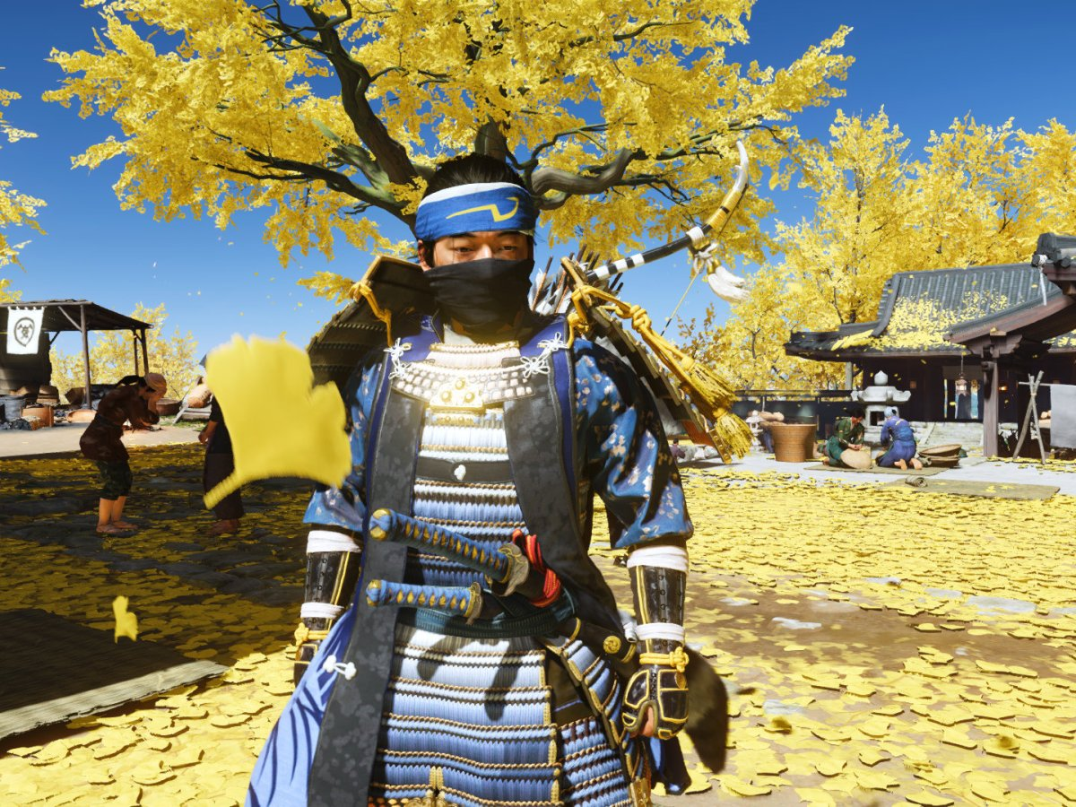 Ghost of Tsushima - Sly Cooper Cosplay