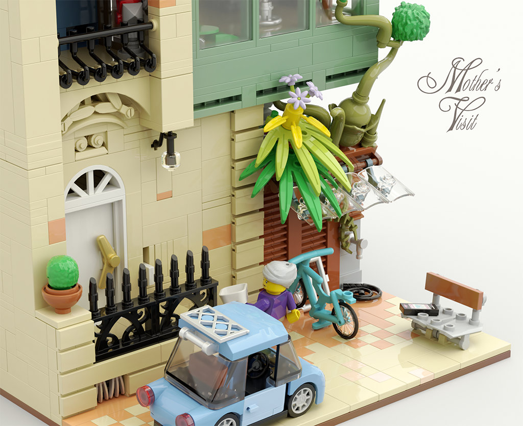Quelle: flickr - GolPlaysWithLego - Mothers Visit