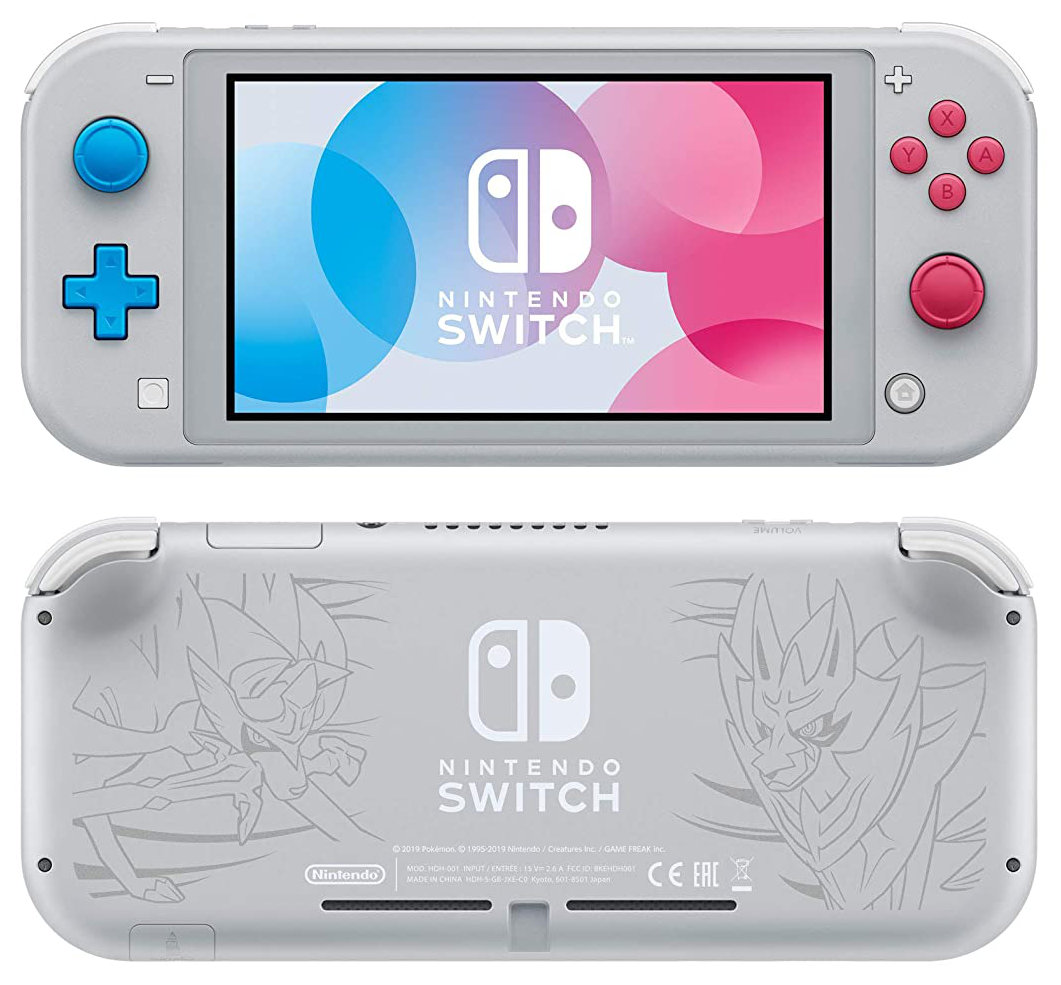 Quelle: Amazon - Nintendo Switch Lite - Zacian & Zamazenta Edition