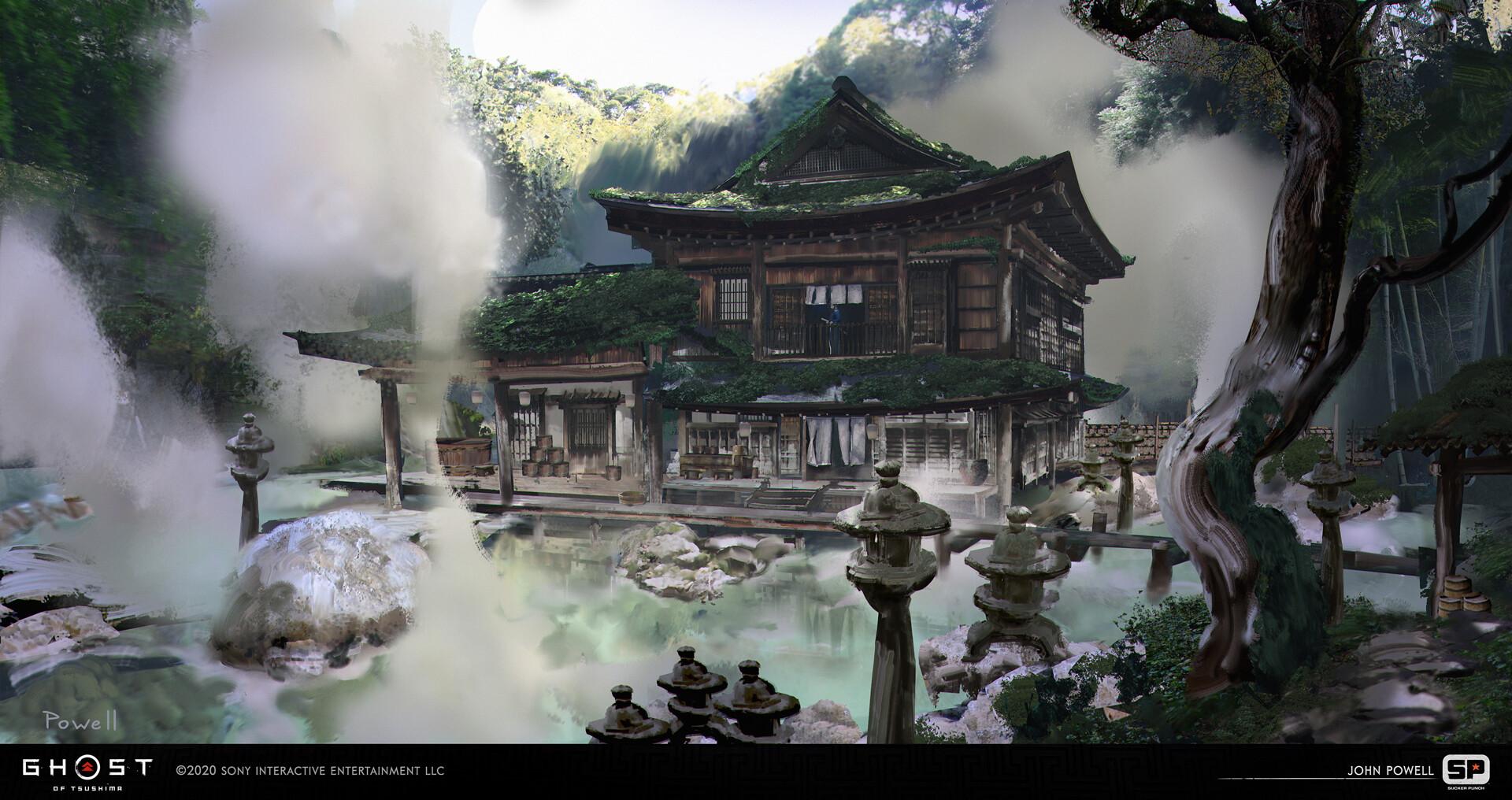 Quelle: ArtStation - John Powell - hiyoshi inn